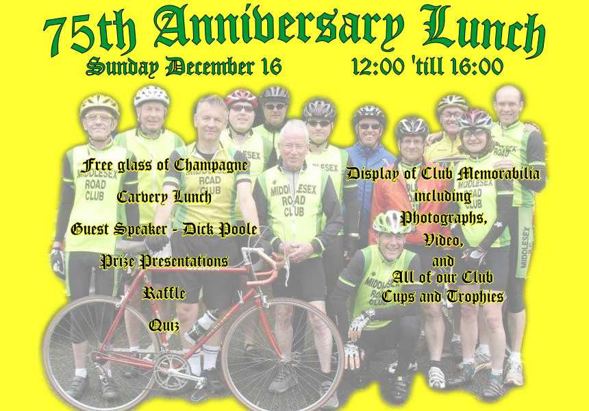 75th Anniversary Nosh Flyer